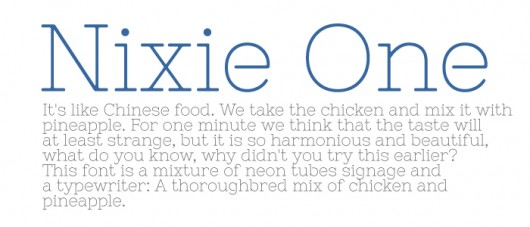 Nixie One